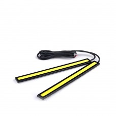 Black Casing 14 cm LED Daytime Running Lights