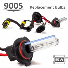 55W HID 9005 (HB3) AC Replacement Bulbs