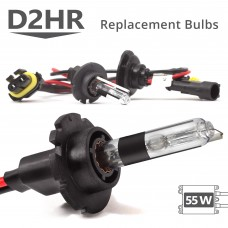 55W HID D2HR AC Replacement Bulbs