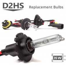 35W HID D2HS AC Replacement Bulbs