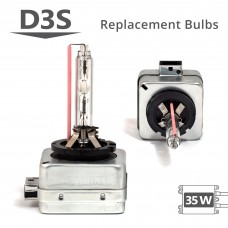 35W HID D3S AC Replacement Bulbs
