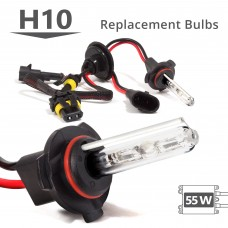 55W HID H10 AC Replacement Bulbs