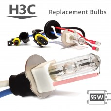 55W HID H3C AC Replacement Bulbs