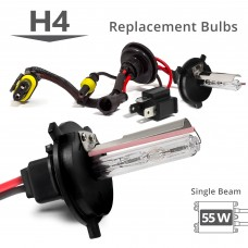 Kensun | 55W HID H4 (HB2) (9003) Single Beam AC Replacement Bulbs