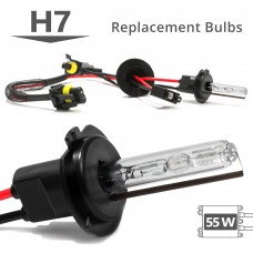 55W HID H7 AC Replacement Bulbs
