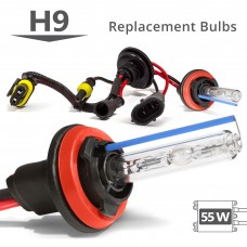 55W HID H9 AC Replacement Bulbs