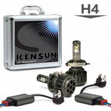 Super Bright LED H4 (HB2) (9003) Dual Beam Conversion Kit with ETI LED Chips