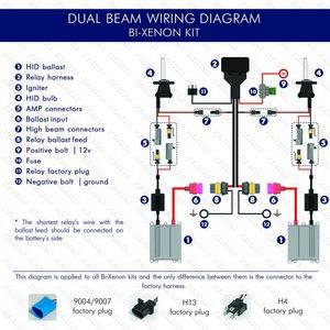Bi-xenon wiring diagram