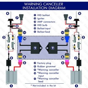 warning canceller wiring diagram